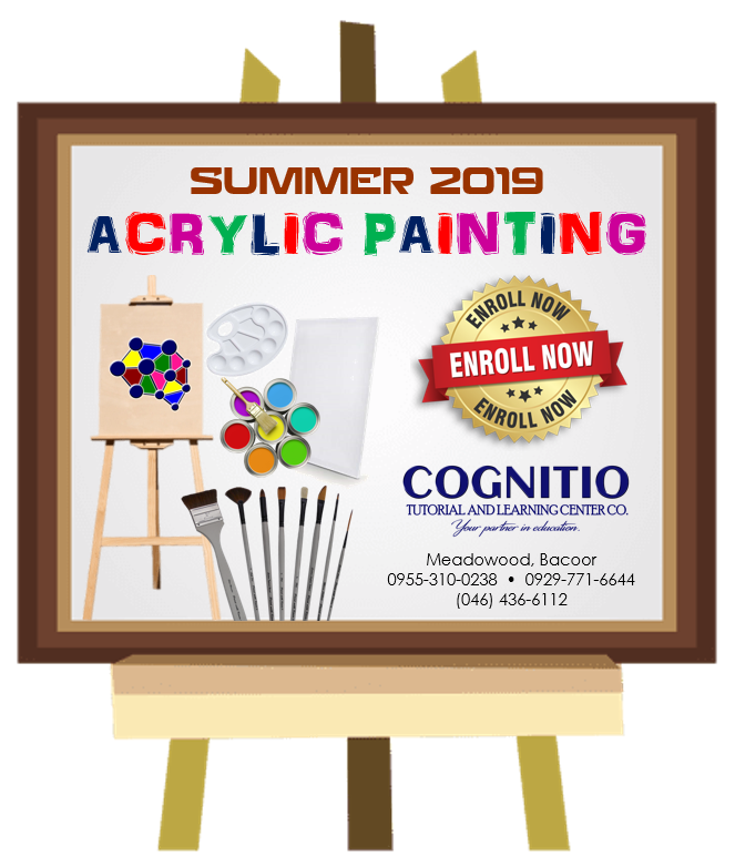 2019 Cognitio Promotion (Acrylic Painting)
