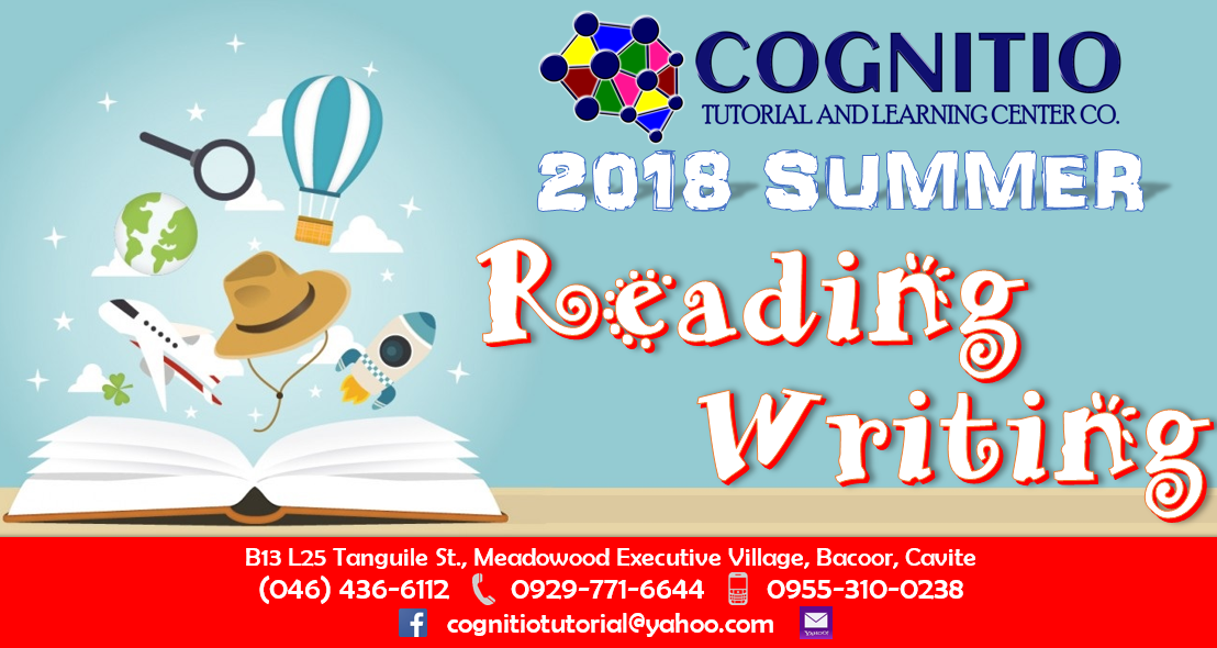 2018 Cognitio Promotion (Summer Reading & Writing)