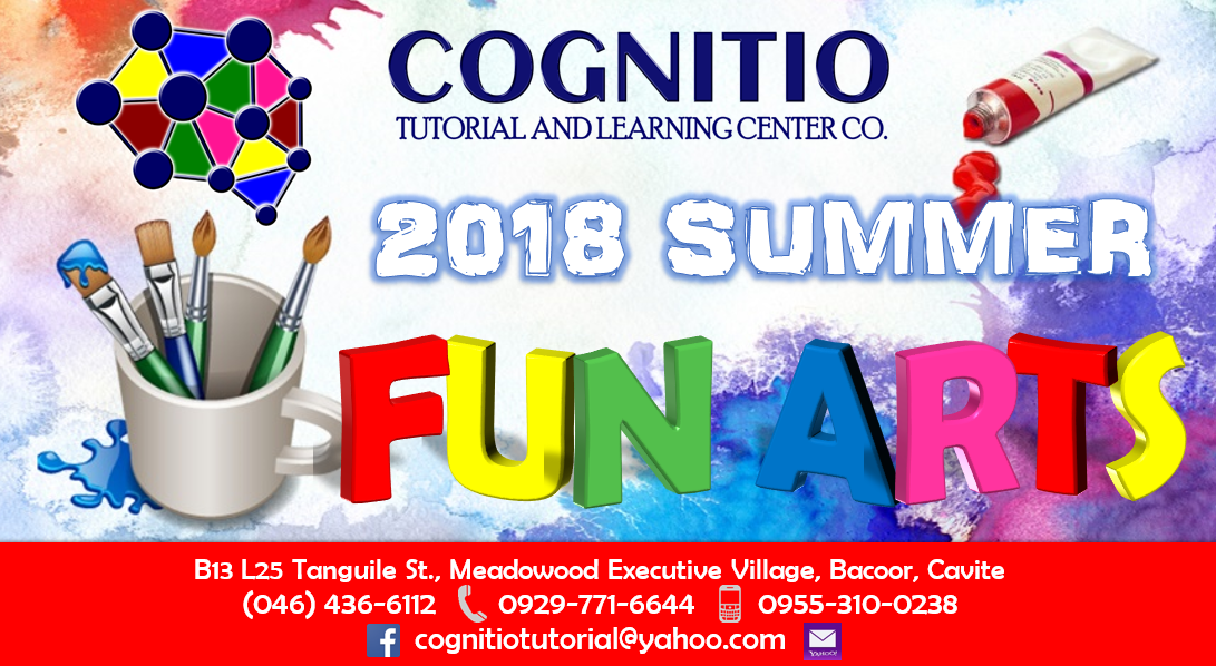 2018 Cognitio Promotion (Summer Fun Arts)