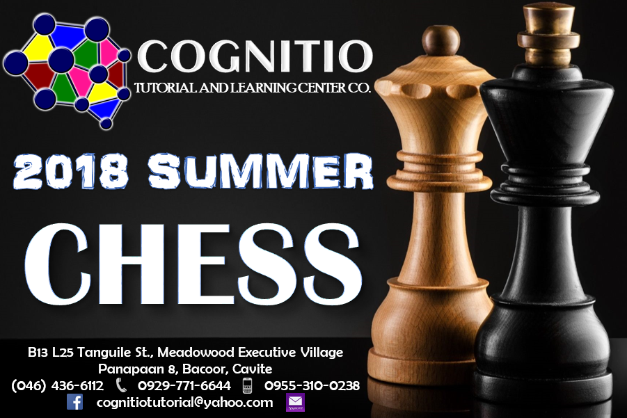 2018 Cognitio Promotion (Summer Chess)