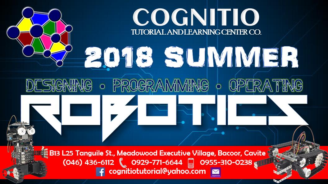 2018 Cognitio Promotion (Summer Robotics)