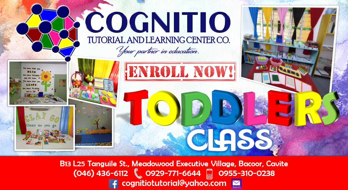 2018 Cognitio Promotion (Toddlers)