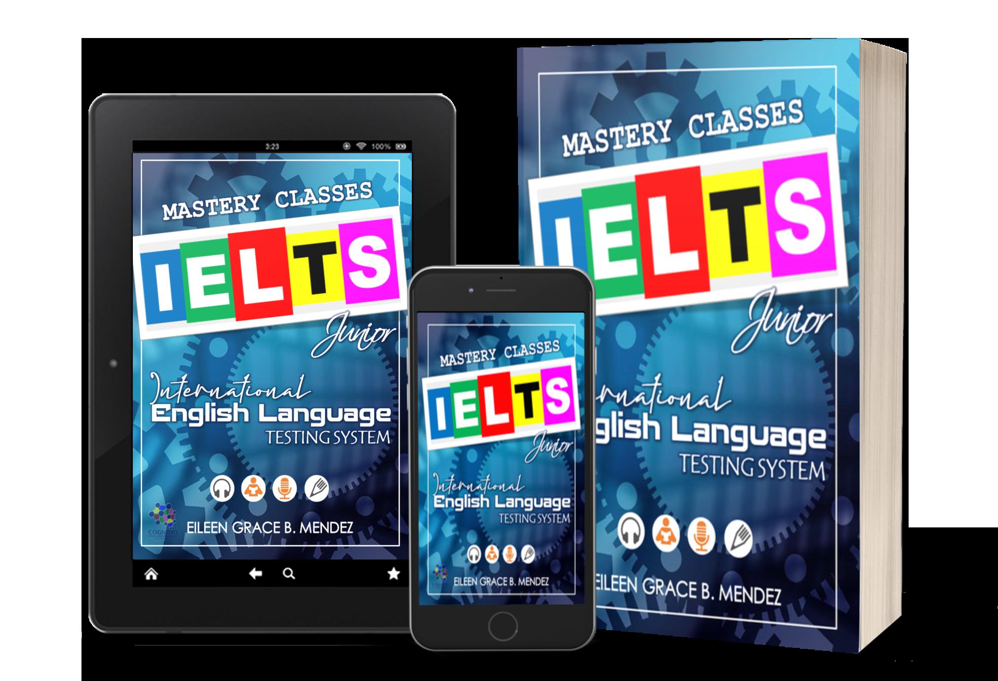 IELTS Mastery Classes Mockup Trio