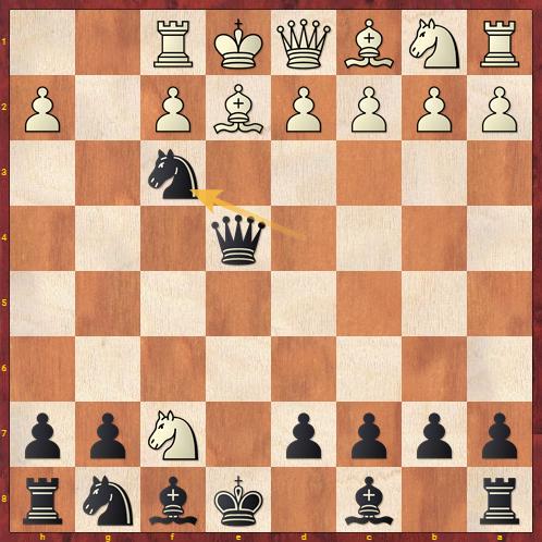 Chess Traps - Blackburne Shilling Trap