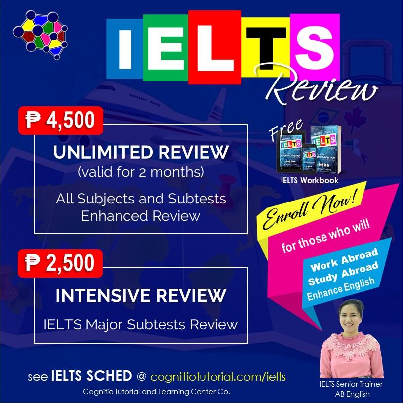 2021 Cognitio Promotion Fix (IELTS Review)