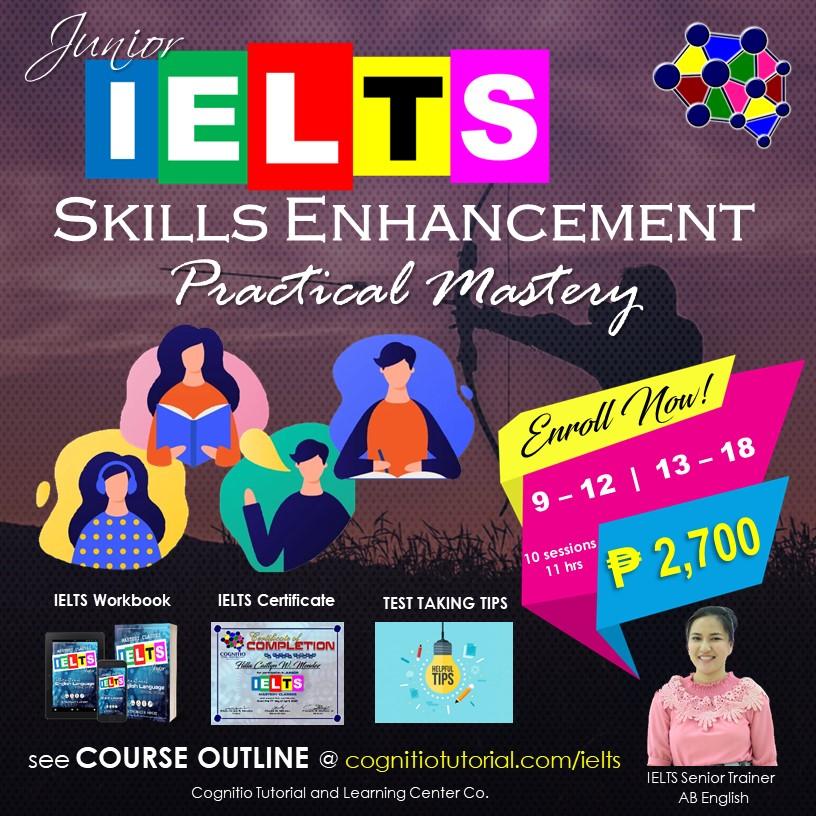 2021 Cognitio Promotion Fix (Junior IELTS Skills Enhancement)